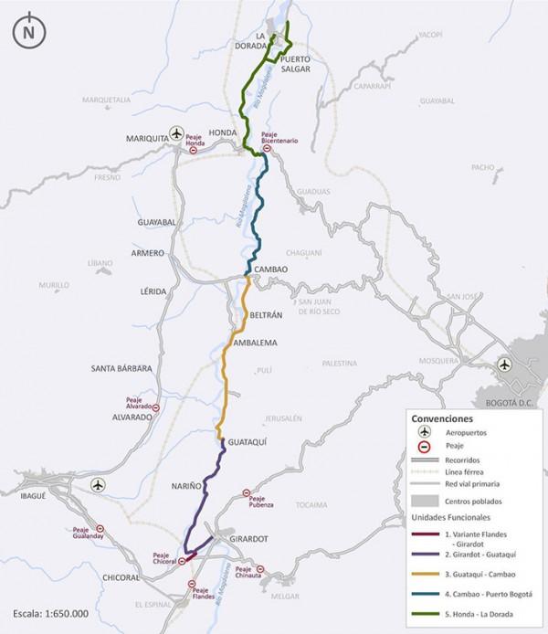 Localización general del proyecto