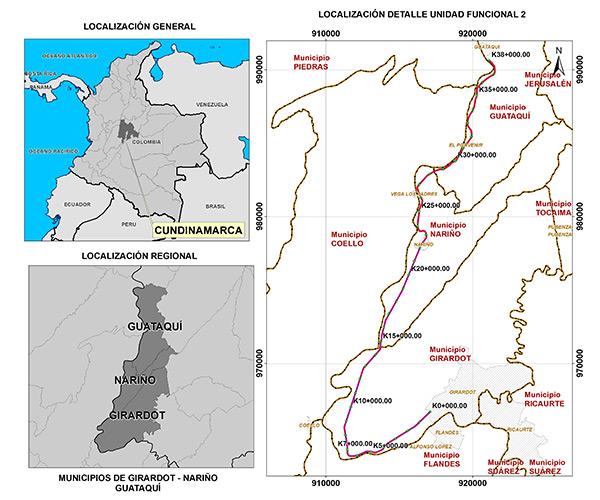 Unidad Funcional 2 – Girardot – Guataquí